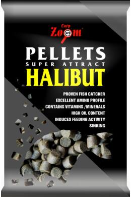 CarpZoom 800g 15mm Fúrt halibut pellet CZ4573