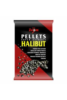 CarpZoom 800g 8mm Fúrt halibut pellet CZ4636