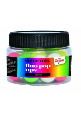 CarpZoom Fluo Pop Up lebegő bojli, 12mm, 50g, színes CZ4984