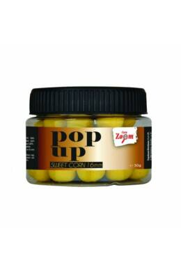 CarpZoom Pop Up lebegő bolji Zig Rig szerelékhez, 16mm, 50g, édes kukorica CZ5400