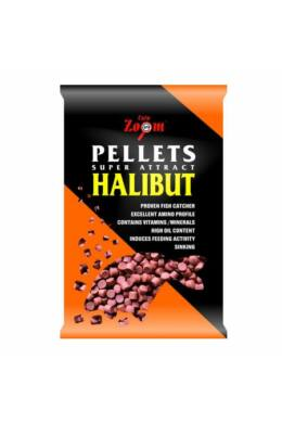 CarpZoom Furat nélküli Red halibut etetőpellet, 16mm, 800g CZ9088