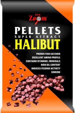 CarpZoom Furat nélküli Red halibut etetőpellet, 20mm, 800g CZ9095