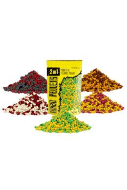 CarpZoom  2in1 Turbo gyors oldódású pellet 6 mm, csoki, narancs, 500 g CZ4877