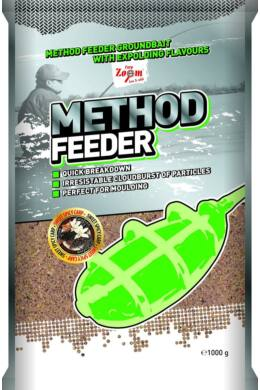 CarpZoom 1kg eper-hal Method Feeder etetőanyag CZ9882