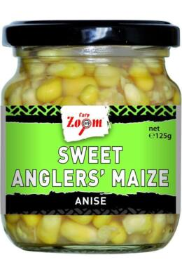 CarpZoom 220ml ánizs Sweet Angler's Kukorica (125g) CZ4469