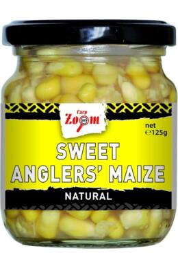 CarpZoom 220ml natural Sweet Angler's Kukorica (125g) CZ1338