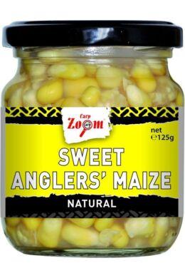 CarpZoom 220ml natural Sweet Angler's Kukorica (125g) CZ1338