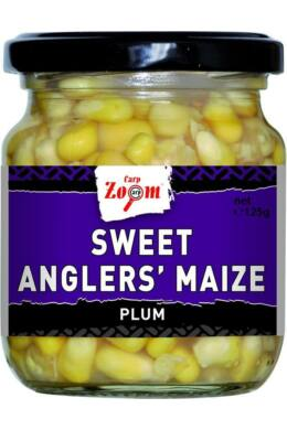 CarpZoom 220ml szilva Sweet Angler's Kukorica (125g) CZ7156