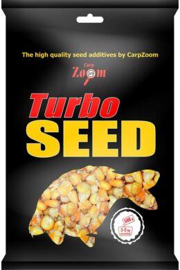 CarpZoom 500g kukorica+búza+kendermag/3X Mix Turbo seed CZ5770
