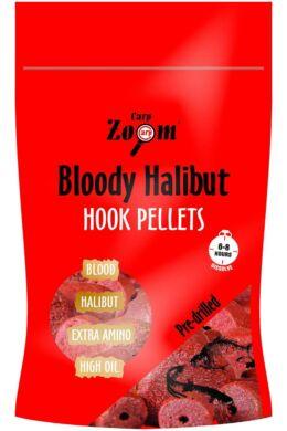 CarpZoom 150g 8mm Bloody Halibut epres fúrt Horogpellet CZ7835