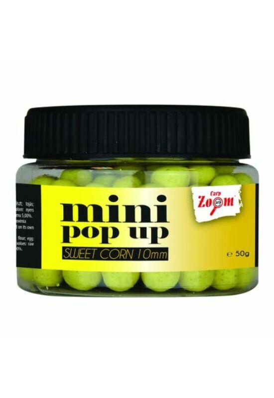 CarpZoom Mini Pop Up lebegő bojli, 10mm, 50g, scopex CZ5325