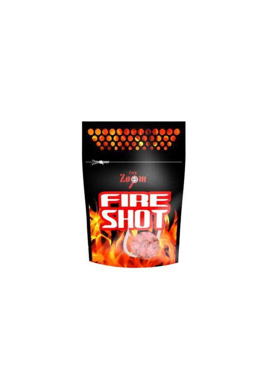 CarpZoom Fire Shot csalizó bojli, 16 mm, fűszeres, fokhagyma, 120 g CZ6833