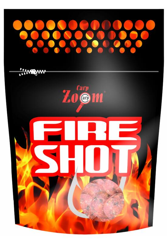 CarpZoom Fire Shot Csalizó bojli, 16mm, 120g, Méz CZ8160