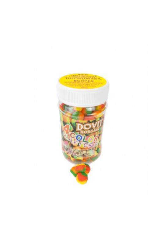 Dovit 4 COLOR wafters 10mm - tűzőszúnyog-scopex DV325