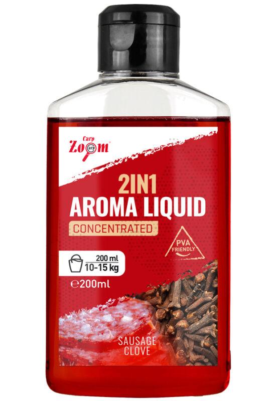 CarpZoom 2in1 folyékony aroma, kolbász, szegfűszeg, 200 ml CZ4310