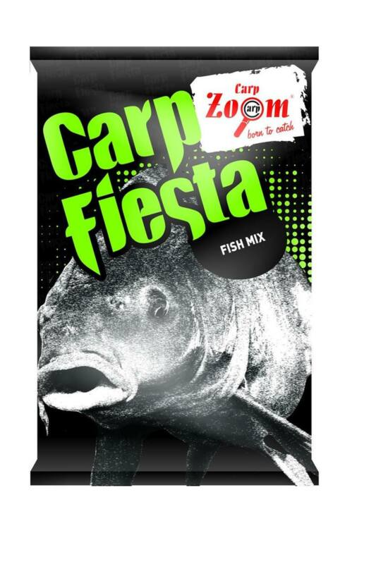 CarpZoom 1kg hideg vizes Carp Fiesta etetőanyag CZ8600