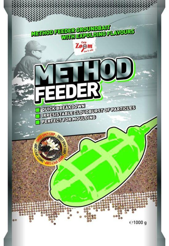 CarpZoom 1kg tigrismogyoró-csokikaramell Method Feeder etetőanyag CZ9905
