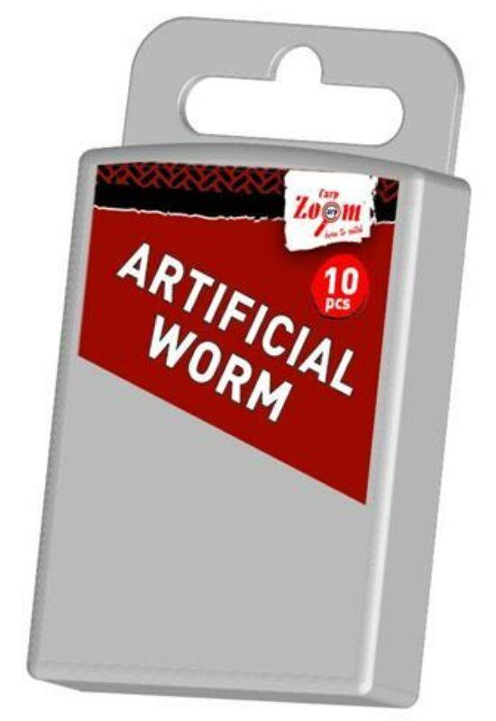 CarpZoom 10db Artificial worm gilisztautánzat CZ3903